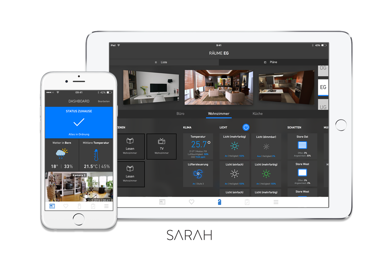 Smart Home Software Installation SARAH
